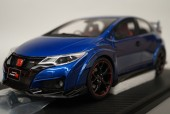 新品19C03-03 onemodel 1/18 ホンダ シビック FK2 Brilliant Sport BlueMetallic